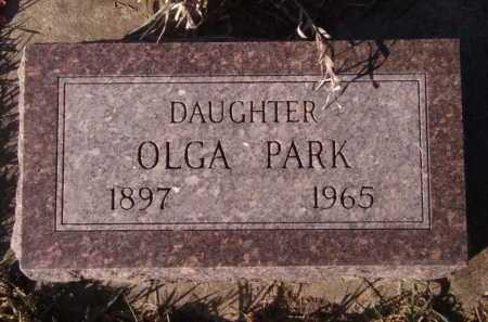 PARK, OLGA - Moody County, South Dakota   OLGA PARK - South Dakota Gravestone Photos