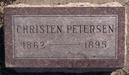 PETERSEN, CHRISTEN - Moody County, South Dakota | CHRISTEN PETERSEN - South Dakota Gravestone Photos