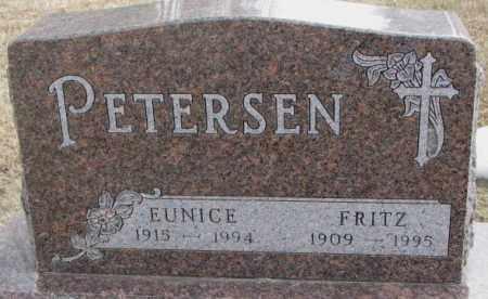 PETERSEN, FRITZ - Moody County, South Dakota | FRITZ PETERSEN - South Dakota Gravestone Photos