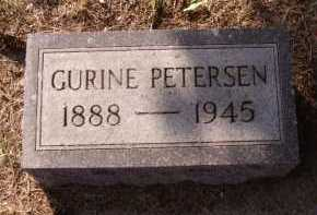 PETERSEN, GURINE - Moody County, South Dakota | GURINE PETERSEN - South Dakota Gravestone Photos
