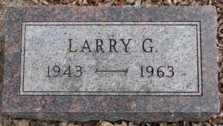 PETERSEN, LARRY G. - Moody County, South Dakota   LARRY G. PETERSEN - South Dakota Gravestone Photos