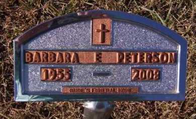 PETERSON, BARBARA E - Moody County, South Dakota | BARBARA E PETERSON - South Dakota Gravestone Photos