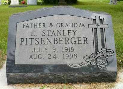 PITSENBERGER, E. STANLEY - Moody County, South Dakota | E. STANLEY PITSENBERGER - South Dakota Gravestone Photos