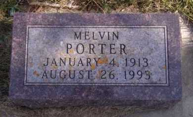 PORTER, MELVIN - Moody County, South Dakota | MELVIN PORTER - South Dakota Gravestone Photos