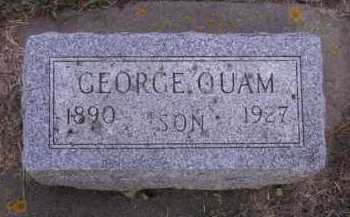 QUAM, GEORGE - Moody County, South Dakota | GEORGE QUAM - South Dakota Gravestone Photos