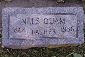 QUAM, NELS - Moody County, South Dakota | NELS QUAM - South Dakota Gravestone Photos