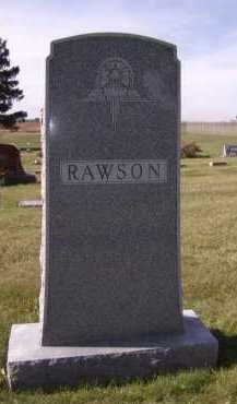 RAWSON, FAMILY - Moody County, South Dakota | FAMILY RAWSON - South Dakota Gravestone Photos