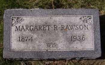 RAWSON, MARGARET R - Moody County, South Dakota | MARGARET R RAWSON - South Dakota Gravestone Photos