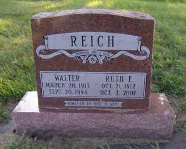 REICH, RUTH E - Moody County, South Dakota | RUTH E REICH - South Dakota Gravestone Photos