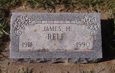 RELF, JAMES H - Moody County, South Dakota | JAMES H RELF - South Dakota Gravestone Photos