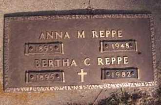 REPPE, ANNA M - Moody County, South Dakota | ANNA M REPPE - South Dakota Gravestone Photos