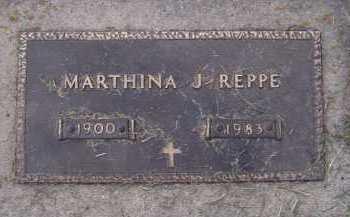 REPPE, MARTHINA J - Moody County, South Dakota   MARTHINA J REPPE - South Dakota Gravestone Photos