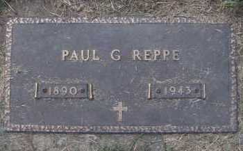 REPPE, PAUL G - Moody County, South Dakota | PAUL G REPPE - South Dakota Gravestone Photos