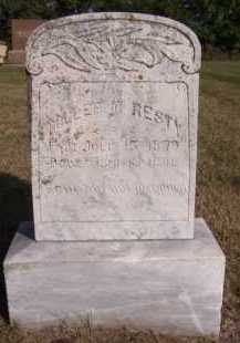 RESTY, TOLLEF T - Moody County, South Dakota | TOLLEF T RESTY - South Dakota Gravestone Photos