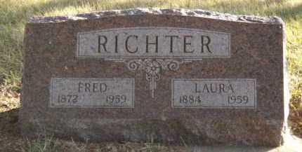 RICHTER, FRED - Moody County, South Dakota | FRED RICHTER - South Dakota Gravestone Photos