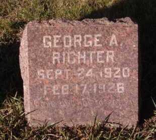 RICHTER, GEORGE A - Moody County, South Dakota | GEORGE A RICHTER - South Dakota Gravestone Photos