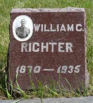 RICHTER, WILLIAM C. - Moody County, South Dakota | WILLIAM C. RICHTER - South Dakota Gravestone Photos