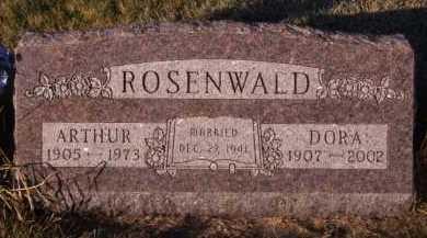 ROSENWALD, ARTHUR - Moody County, South Dakota | ARTHUR ROSENWALD - South Dakota Gravestone Photos