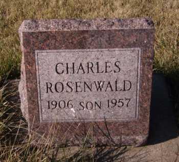 ROSENWALD, CHARLES - Moody County, South Dakota | CHARLES ROSENWALD - South Dakota Gravestone Photos