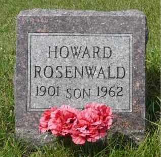 ROSENWALD, HOWARD - Moody County, South Dakota | HOWARD ROSENWALD - South Dakota Gravestone Photos