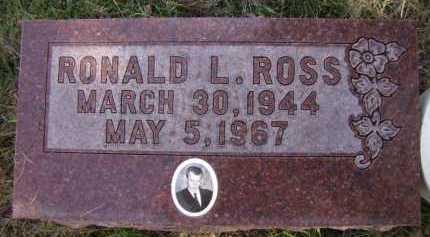 ROSS, RONALD L - Moody County, South Dakota | RONALD L ROSS - South Dakota Gravestone Photos