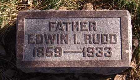 RUDD, EDWIN - Moody County, South Dakota   EDWIN RUDD - South Dakota Gravestone Photos