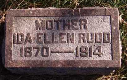 RUDD, IDA ELLEN - Moody County, South Dakota   IDA ELLEN RUDD - South Dakota Gravestone Photos