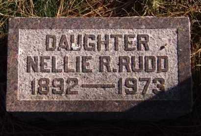 RUDD, NELLIE R. - Moody County, South Dakota   NELLIE R. RUDD - South Dakota Gravestone Photos