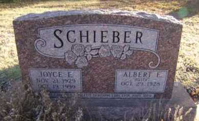 SCHIEBER, ALBERT E - Moody County, South Dakota | ALBERT E SCHIEBER - South Dakota Gravestone Photos
