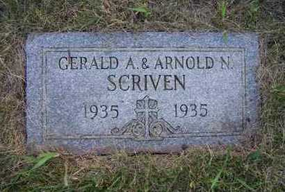 SCRIVEN, GERALD A - Moody County, South Dakota | GERALD A SCRIVEN - South Dakota Gravestone Photos