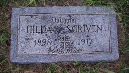 SCRIVEN, HILDA G - Moody County, South Dakota | HILDA G SCRIVEN - South Dakota Gravestone Photos
