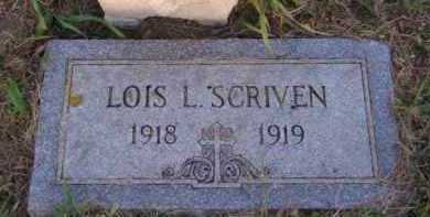 SCRIVEN, LOIS L - Moody County, South Dakota | LOIS L SCRIVEN - South Dakota Gravestone Photos