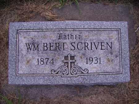 SCRIVEN, WILLIAM BERT - Moody County, South Dakota | WILLIAM BERT SCRIVEN - South Dakota Gravestone Photos