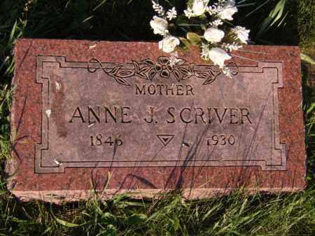 JOHANSON SCRIVER, ANNE J - Moody County, South Dakota | ANNE J JOHANSON SCRIVER - South Dakota Gravestone Photos