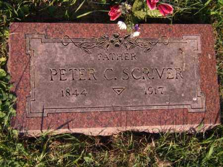 SCRIVER, PETER C - Moody County, South Dakota | PETER C SCRIVER - South Dakota Gravestone Photos