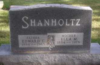 SHANHOLTZ, ELLA M - Moody County, South Dakota | ELLA M SHANHOLTZ - South Dakota Gravestone Photos