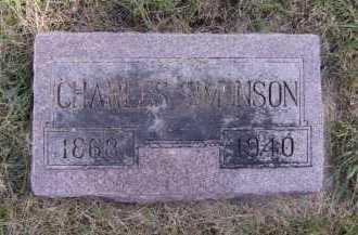 SIMONSON, CHARLES - Moody County, South Dakota | CHARLES SIMONSON - South Dakota Gravestone Photos