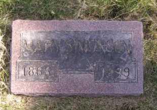 SIMONSON, MARY - Moody County, South Dakota | MARY SIMONSON - South Dakota Gravestone Photos