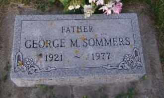 SOMMERS, GEORGE M - Moody County, South Dakota | GEORGE M SOMMERS - South Dakota Gravestone Photos