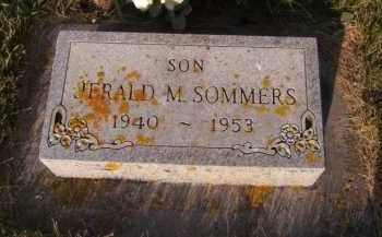 SOMMERS, JERALD M - Moody County, South Dakota   JERALD M SOMMERS - South Dakota Gravestone Photos