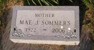 SOMMERS, MAE J - Moody County, South Dakota   MAE J SOMMERS - South Dakota Gravestone Photos