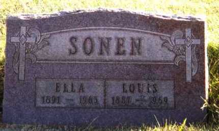 SONEN, LOUIS - Moody County, South Dakota | LOUIS SONEN - South Dakota Gravestone Photos