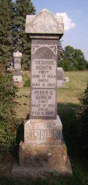 SONEN, PEDER B - Moody County, South Dakota | PEDER B SONEN - South Dakota Gravestone Photos