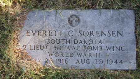 SORENSEN, EVERETT C - Moody County, South Dakota | EVERETT C SORENSEN - South Dakota Gravestone Photos
