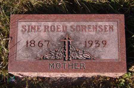 ROED SORENSEN, SINE - Moody County, South Dakota | SINE ROED SORENSEN - South Dakota Gravestone Photos