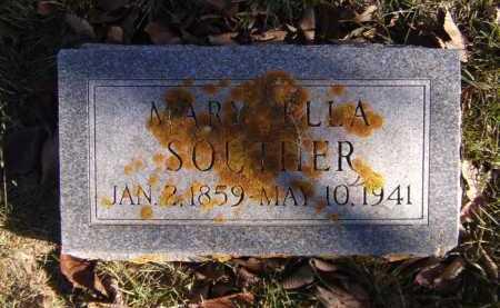 SOUTHER, MARY ELLA - Moody County, South Dakota   MARY ELLA SOUTHER - South Dakota Gravestone Photos