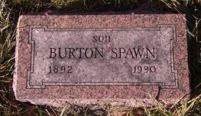 SPAWN, BURTON - Moody County, South Dakota | BURTON SPAWN - South Dakota Gravestone Photos