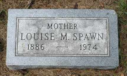 SPAWN, LOUISE M. - Moody County, South Dakota | LOUISE M. SPAWN - South Dakota Gravestone Photos