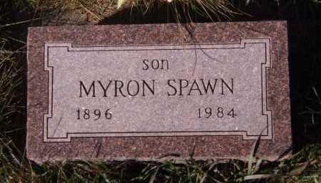 SPAWN, MYRON - Moody County, South Dakota | MYRON SPAWN - South Dakota Gravestone Photos