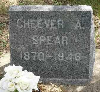 SPEAR, CHEEVER A. - Moody County, South Dakota | CHEEVER A. SPEAR - South Dakota Gravestone Photos